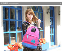 Wholesale Free DHL Okade Shoulder Backpacks Fashion Canvas Nylon Sports Outdoor Bags Colors For Laptop Notebook Students Schoolbags Factory Direct