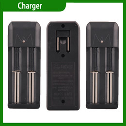 Wholesale double groove E Cigarette Battery Charger Universal Charger Electronic Cigarette Chargers for Battery via DHL