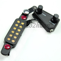Wholesale Black Acoustic classical Guitar Sound Hole Pickup Tone Volume knob With Cable