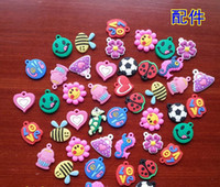 Charm Bracelets South American Children's DIY Kids Jewelry loom band charms bracelet DIY charms rainbow loom Charms pendant Loom Refill Bands charms zy1