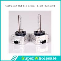 Wholesale NEW D1S D1C D1R K OEM HID Xenon Headlight Light Bulbs