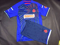 Wholesale Cheap Chivas Guadalajara Soccer Jerseys New Season A Thai Quality Mexico Chivas Guadalajara Away Soccer Jerseys Mens Sports Uniforms