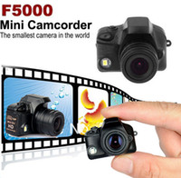 Wholesale F5000 Digital Video Camera Mini Camcorder Smallest Mini Camera Mini DV DVR HD P Newest