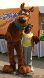 Wholesale Hot Scooby Doo mascot costume Scooby Doo clothing dog mascot costume adult size HSA0400