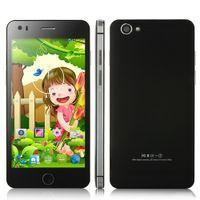 Wholesale New i6 Smartphones Android MTK6582 Quad Core GHz Inch x540 Pixels Screen mm Slim GB GB OTG GPS G Star i6 Smartphone