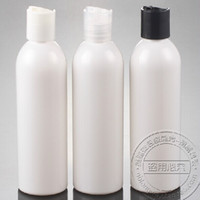Wholesale ml white empty plastic bottles DIY ML Pet Bottle With Disk Cap ML Pastic Cream containers pc