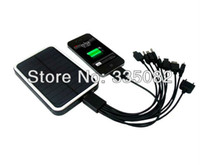 Wholesale price mAh Solar Battery Panel Charger portable power bank for Mobile Phone MP3 MP4 PDA Camera solar battery panel