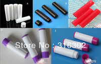 Wholesale ml white pp lip cream tube lip balm tube ml plastic bottle ml plastic packaging