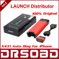 Wholesale 2014 Newest Launch X431 iDiag Scanner for iOS Android X EasyDiag intelligent Diagnosis Auto Diag Online Update