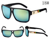 Wholesale 22 colors AAA quality factory price NEW DRAGON Sunglasses Jam Sunglasses Mirror Lens Brand Designer Mens Sport Sunglasses Dragon