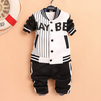 Boy Spring / Autumn Long 2014 new spring autumn boys sports outfits sets 4sets lot long sleeve