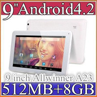Wholesale 100pcs cheap quot inch Dual camera Dual core Android Tablet PC MB GB GHz Allwinner A23 A13 Bluetooth PB9A