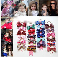 Barrettes Cloth Solid 2014 New Arrival Children's Hair Accessories Girl's Bowknot Party Barrettes Mixed-color For Choice