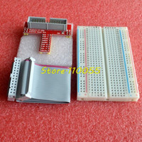 piece 0.300kg (0.66lb.) 20cm x 20cm x 10cm (7.87in x 7.87in x 3. Free delivery with tracking number Raspberry Pi expansion DIY kit (colorful extension cable + breadboard + GPIO adapter plate)