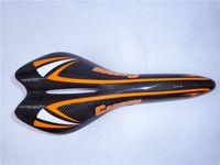 Wholesale 2014 New Arrival Carbon Saddle Bike Saddle Bike Accessaries Orange