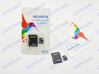 Wholesale GB ADATA Micro SD Card Class TF Memory Card GB Flash Micro SDHC Cards Adapter Retail Package for Canon nikon camera