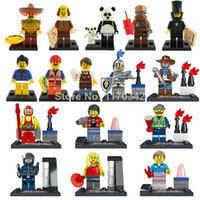 Wholesale The Movie Figures Building Blocks Sets Model LELE Minifigures Classic Toys Bricks Compatible With