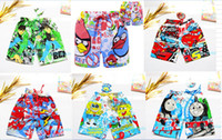 Wholesale 2014 new Children s cartoon shorts The boy cartoon beach pants cartoons and size M L XL to choose