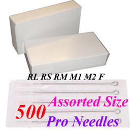 Wholesale Best Quality Assorted Disposable Sterile Tattoo Needles For Tattoo Gun Needle Ink Cups Grips Kits