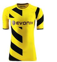 Cheap 2014-15 Borussia Dortmund Home Yellow Soccer Jerseys Best Thai Quality Club Football Shirt Cheap Team Sport Jerseys Outdoor Apparel Kits