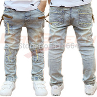 Wholesale Hot Sale Retail boys children jeans pants for boys fit yrs new kids jeans pants summer fall and winter