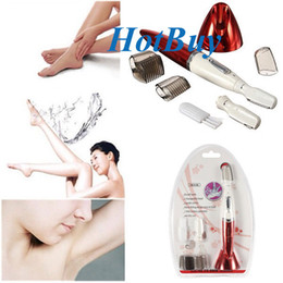Wholesale Female Electric Wet Dry Use Eyebrow Hair Remover Shaver Trimmer
