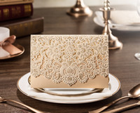 Wholesale 2014 autumn new style CW072 cream invitations cards Wedding Invitations printing any colour