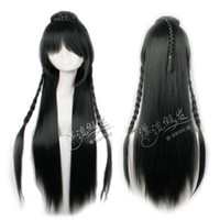 Cheap 80cm Green Long Straight Party Hair Heat Resistance Cosplay Costume Wig Free Shipping