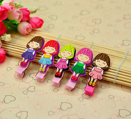 Wholesale Mixed Fashion Baby Accessories Recycle Rubber Lovely Girls Children Girl Jewelry Hair Clip HairPins Hairwear