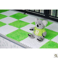 Wholesale OP Play Mats EVA SOFT SHAGGY FLOOR RUG CARPET MAT INDOOR PLUSH CARPET VELVET MATS PUZZLE Shaggy Pile Area Rug MAT
