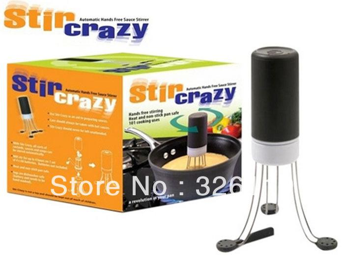 Wholesale-OP-Automatic Hands Free Sauce Stirrer Stir Crazy 3 Speeds
