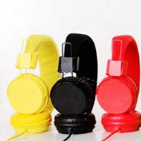 Computer best pc mic - EP05 Colorful Headband Headphones with Mic Fashion High Quality Headset for MP3 PC Cellphone Tablet Best Earphones Free Ship