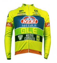2019 Neri Sottoli-Yellow Long Sleeve Cycling Jersey  Cycling Clothing ciclismo maillot MTB C21