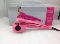 Cheap DHL free !!! Hot Gen 3rd Curl Secret pink color hair curl machine Pro perfect curl Ceramic curl machine Retail Box waitingyou