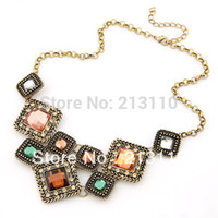 Cheap New arrival Hot costume jewelry unique design handmade statement necklace,enviroment High Quality