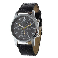 crocodile skin - WoMaGe Round Dial Crocodile Skin Strap Quartz Watch