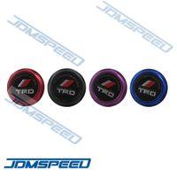 Wholesale JDMSpeed Billet Aluminum TRD Logo Engine Oil Filler Cap Fuel Fill Tank Cover Fit For Toyota