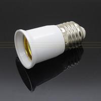 Wholesale Extension E27 Base mm Extend Adapter for home test LED Halogen CFL Light Bulb Lamp Socket