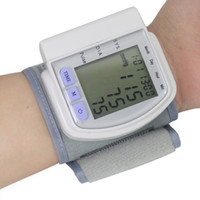 Wholesale Home Automatic Digital Arm Blood Pressure Monitor with LCD Display Heart Beat Meter Device