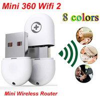 Cheap Portable 360 Wifi 2 Mini Wireless Router Access Point Wireless Bridge USB Wifi Latest Generation WiFi Adapter luxury Settings Super Easy 150