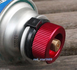 Wholesale Outdoor Camping Picnic Burner Cartridge Gas Fuel Canister Stove Cans tank Adapter Convert