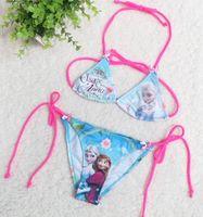 bikinis - 2014 New Arrival Summer set Bikini Children Girls Lovely Kids Fashion High Quality Swimsuit Swimming Cartoon Swimwear E0365