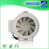 Wholesale HON GUAN Low Profile Easy Installation Speed HF P Inch KTV Restaurant Mixed Air Extractor Ventilation Fan