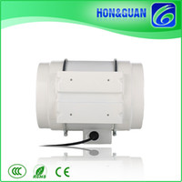 Wholesale Hot Selling Hon Guan HF P Inch mm IP44 In line Fans Duct Mounted Fans for Bathroom and Living Room