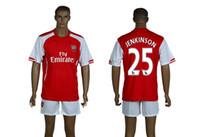 Cheap 2014-15 Arsenal #25 JENKINSON Home Red Soccer Sets New Season England Premier League Club Cheap Soccer Jerseys High Quality Football Shirts