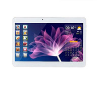Wholesale 10 inch HD G tablet pc MTK6582 Quad Core G GB Android with G GPS bluetooth Wifi Dual SIM Cheap Tablet PC