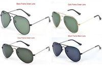 vintage fashion sunglasses - Retail Oculos Vintage Shade Aviator sun glasses Metal Classic Retro Brand Men s Women Fashion Polarized Sunglasses COLORS
