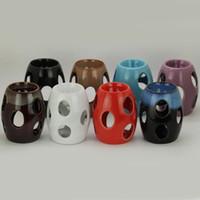 Wholesale Cute Drum Aroma Oil Burner Candle Incense Furnace Burner Fragrance Lamp Essential Oil Holder SK118