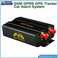 Wholesale GPS GSM SMS GPRS Anti theft Alert System Quad band Frequency SOS Vehicle Car GPS Tracker