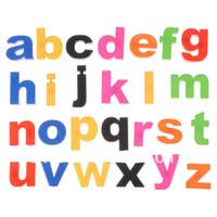 Wholesale 1 Set Child Kid Magnetic Magnet Letter Capital Lowercase Alphabet Fridge Education Toy